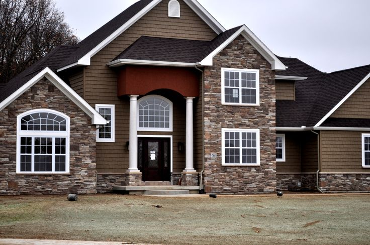 Dry Stack Stone Exterior House 2017 2018 Best Cars Reviews