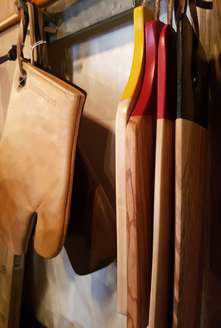 Planche en bois - Laurent Barbier Gants en cuir - Dutchdeluxe