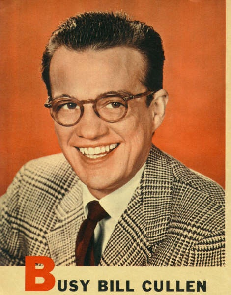 "One of the ""perks"" of being sick as a child in the 60s & 70s-getting to watch Bill Cullen on whatever daytime game show he was hosting."