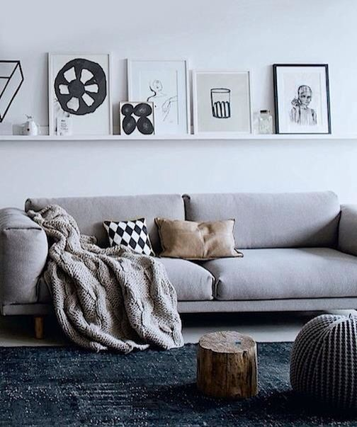 1000 Ideas About Above Couch On Pinterest Shelves Above