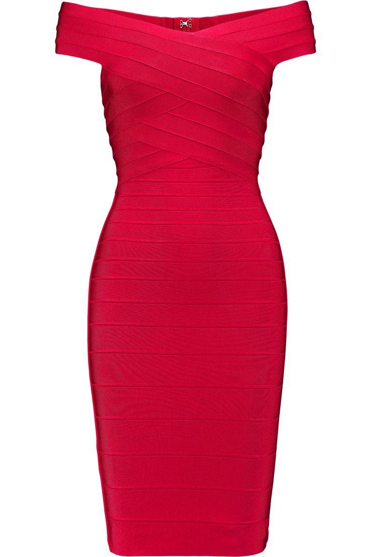 HERVE LEGER Tayler Bandage Dress. #herveleger #cloth #dress