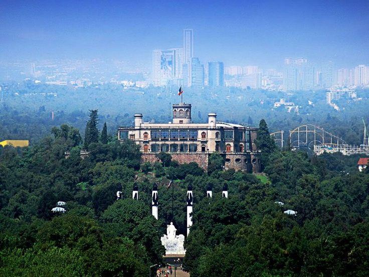Castillo de Chapultepec, Mexico DF.