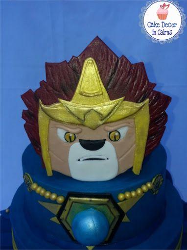 Lego Chima Laval Fondant Topper Cake