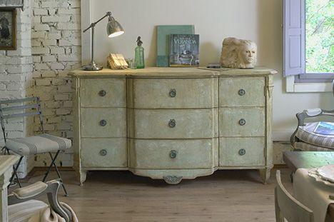 24 fantastiche immagini su provencal style su pinterest - Mobili soggiorno stile provenzale ...