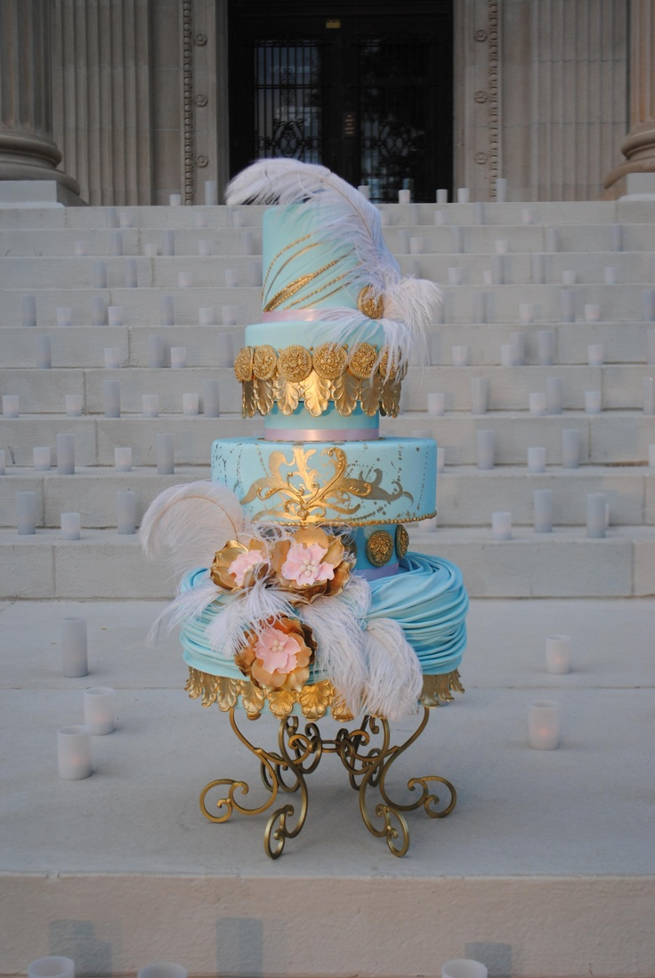 Victorian inspired cake.  The steps of the Oklahoma Heritage center make the perfect back drop.Cake Ideas, Amazing Cake, Beautiful Cake, Inspiration Cake, Victorian Inspiration, Eating Cake, Wedding Cake, Circus Cake, Gorgeous Cake