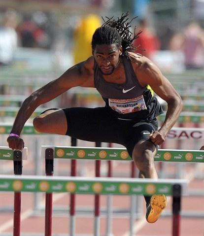 Jason Richardson, men's 110m hurdles