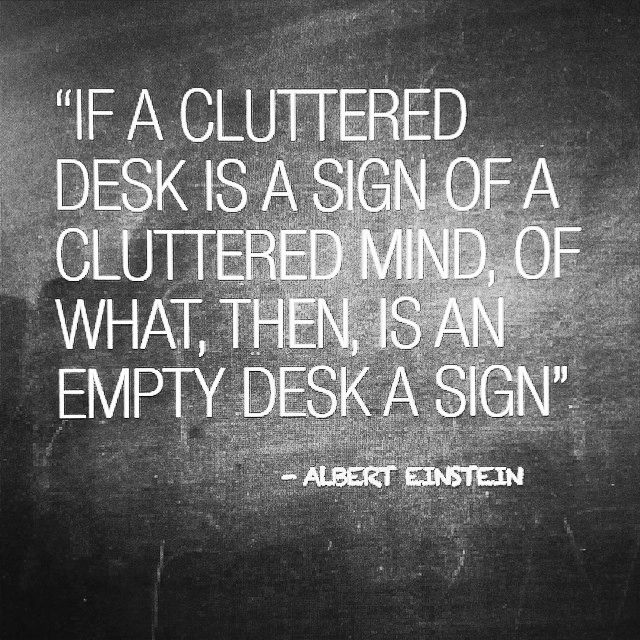 NO CLEAN DESK POLICY ANYMORE :) #desk #work #quote # ...