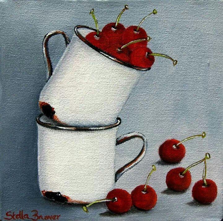 ✿Basket fruits & Vegetables✿ Stella Bruwer