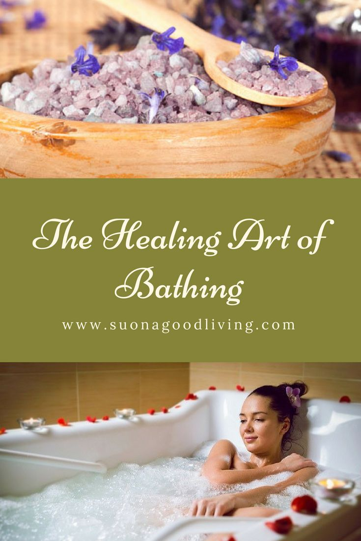 Learn about the healing benefits of bathing ingredients. suonagoodliving.com