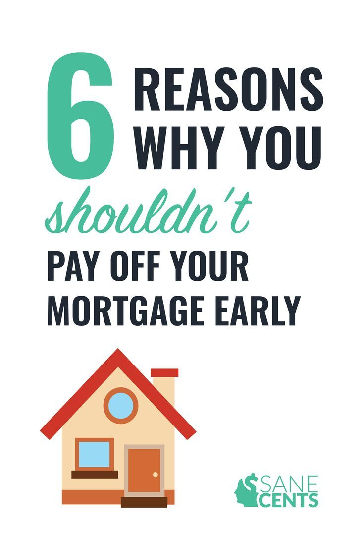 6 Reasons Why You Shouldn T Pay Off Your Mortgage Early
