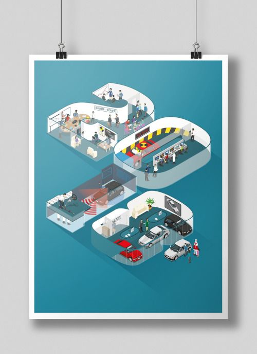 Isometric Illustration for Advances Magazine by Rileigh Design. www.rileigh.co.uk