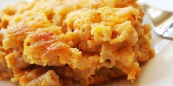 Tepsis sajtos makaróni
