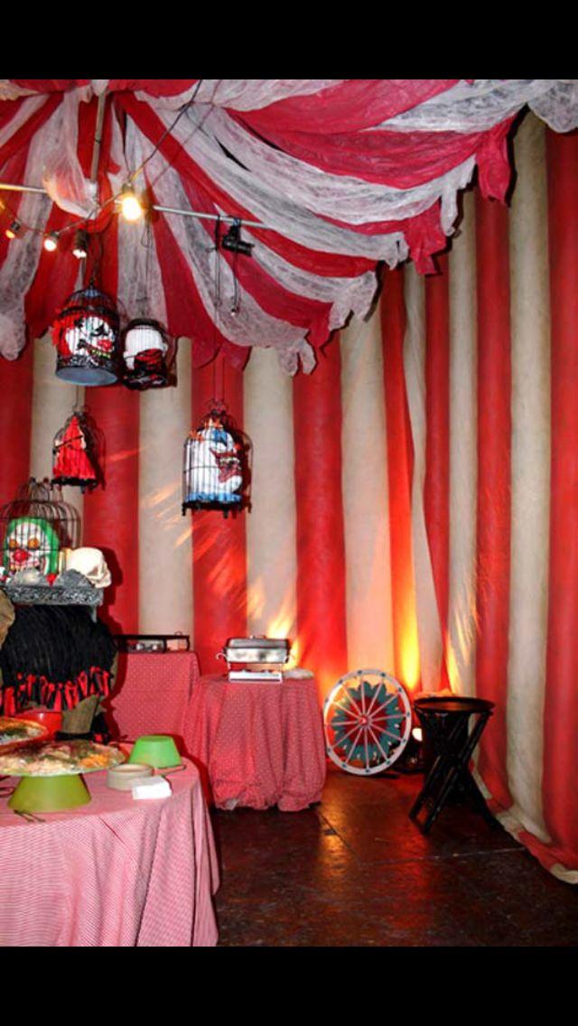 42 best Halloween images on Pinterest Halloween decorations - circus halloween decorations