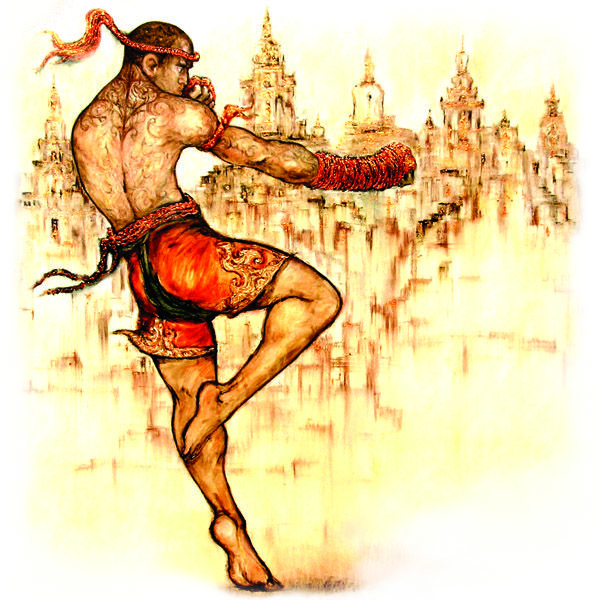 Muay Thai Martial Arts.