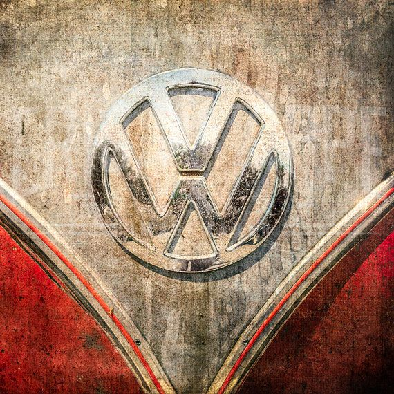 VW Bus Art Retro Automobile Wall By EricZippeImagemaker