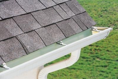 How to Adjust a Gutter's Pitch (7 Steps)   /  However, for gutters to function correctly they require a slight slope, called a pitch, which causes rainwater to flow to the downspouts. Since gutters settle as screws and brackets loosen, it's a good idea to periodically check the pitch of the gutters and adjust them if needed.  Read more : http://www.ehow.com/how_12113844_adjust-gutters-pitch.html