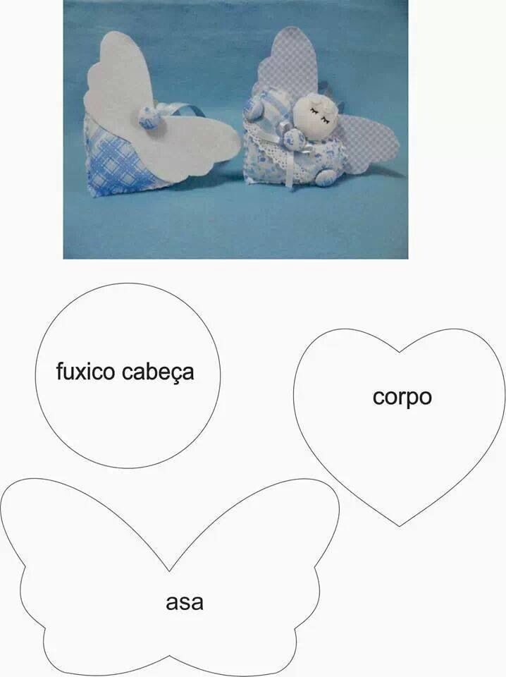 Angioletto....cute little heart angels!