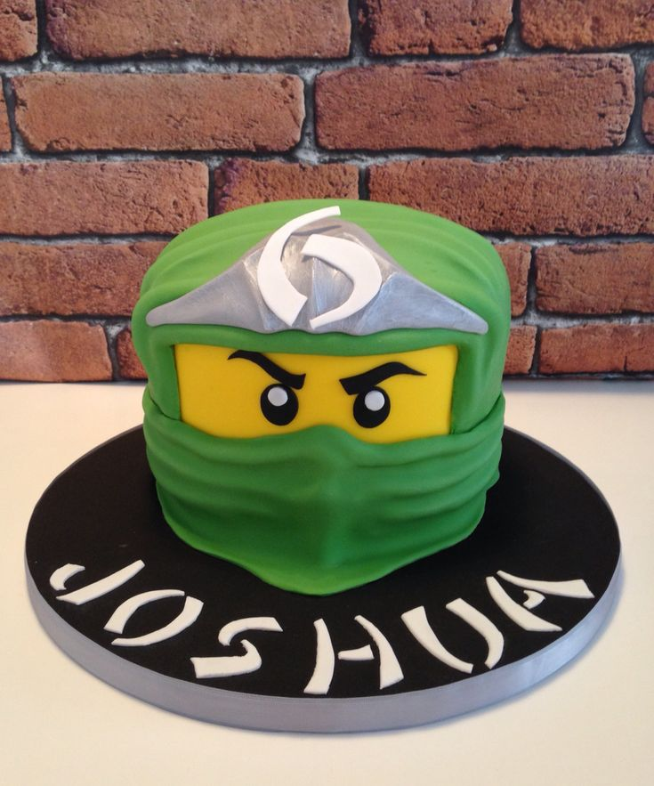 Lego ninjago cake                                                                                                                                                                                 More
