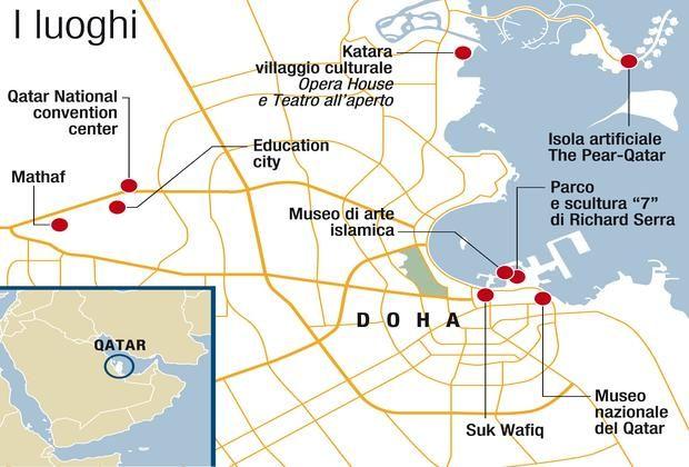 Gli itinerari dell'arte a Doha  Novembre: viaggio in Qatar