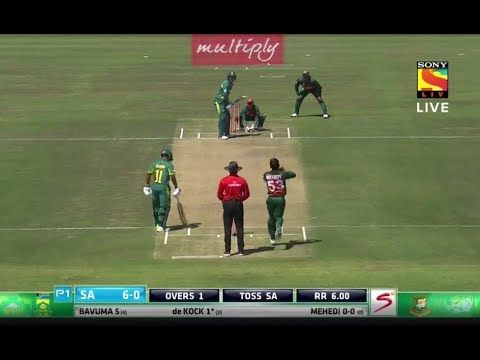 Bangladesh VS South Africa | 1st T20I Match | Live Cricket Match and Sco...