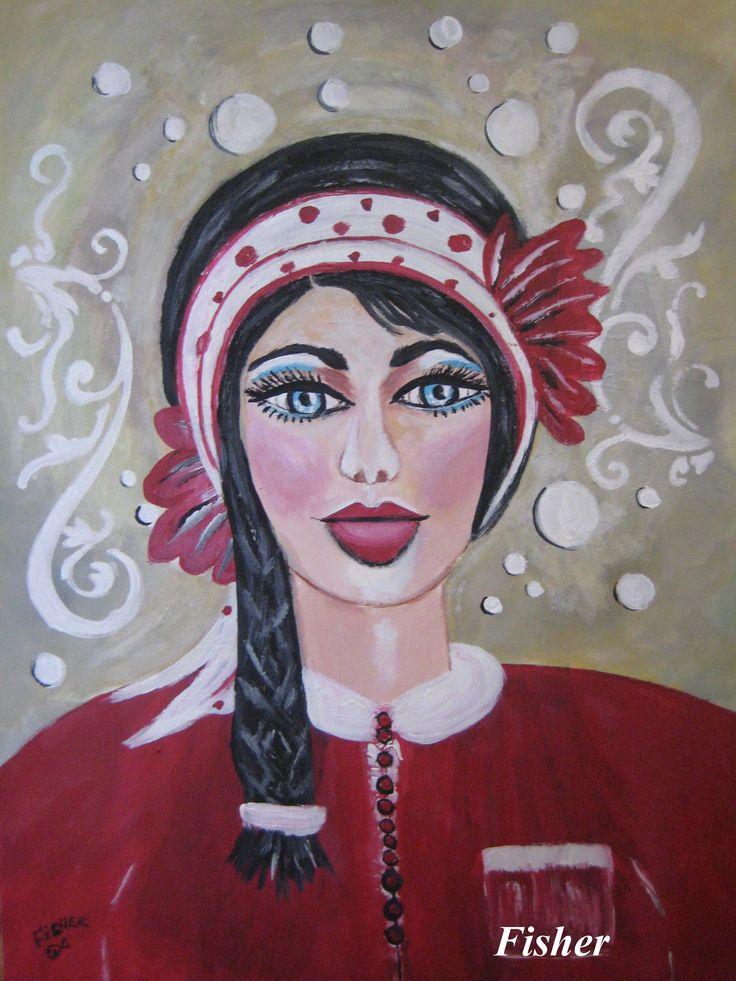 Kaila par : Louise Fisher Sanscartier artiste peintre