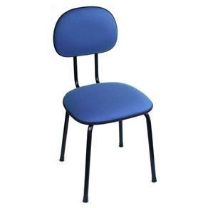 Cadeira de Escritório Palito Secretária Fixa Tecido