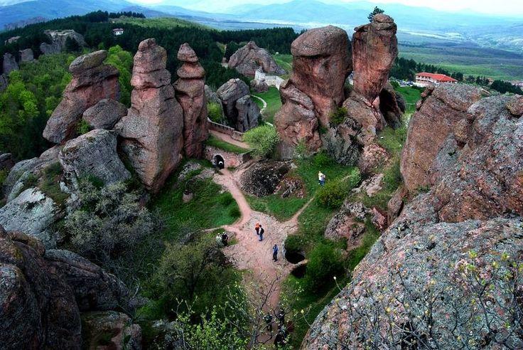 La forteresse de Belogradchik en Bulgarie  2Tout2Rien