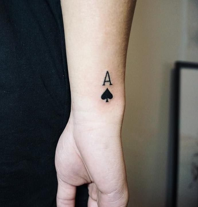 Best Ace Tattoos And 5 Free Ace Tattoo Designs Tattoo Insider Ace Tattoo Card Tattoo Designs Tattoos For Guys