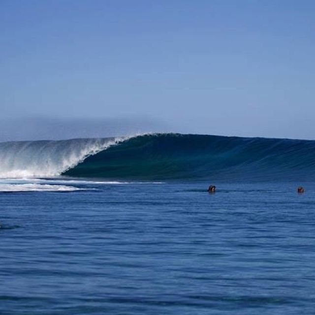 Great wave and powerful. http://www.balisurfwaves.com/