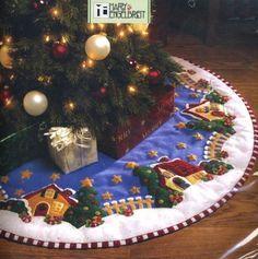 ideias para saia de árvore de natal - 15.09.2008