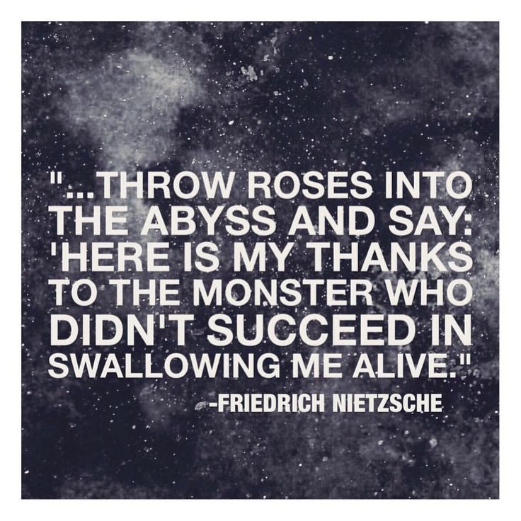 "138 Likes, 8 Comments - How Am I Feeling? (@howamifeelingg) on Instagram: ""What is your interpretation of this Friedrich Nietzsche quote? Comment below."""