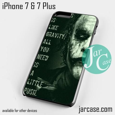Joker_All needs a little push 2 Phone case for iPhone 7 and 7 Plus