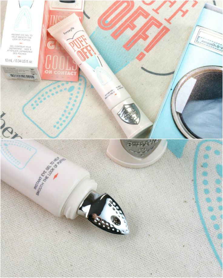 Benefit Puff Off! Instant Eye Gel: Review