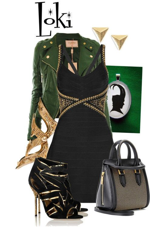 Another wearable Loki outfit, this time a lot more glam. We're LOVING it! We may kneel before it, in fact.