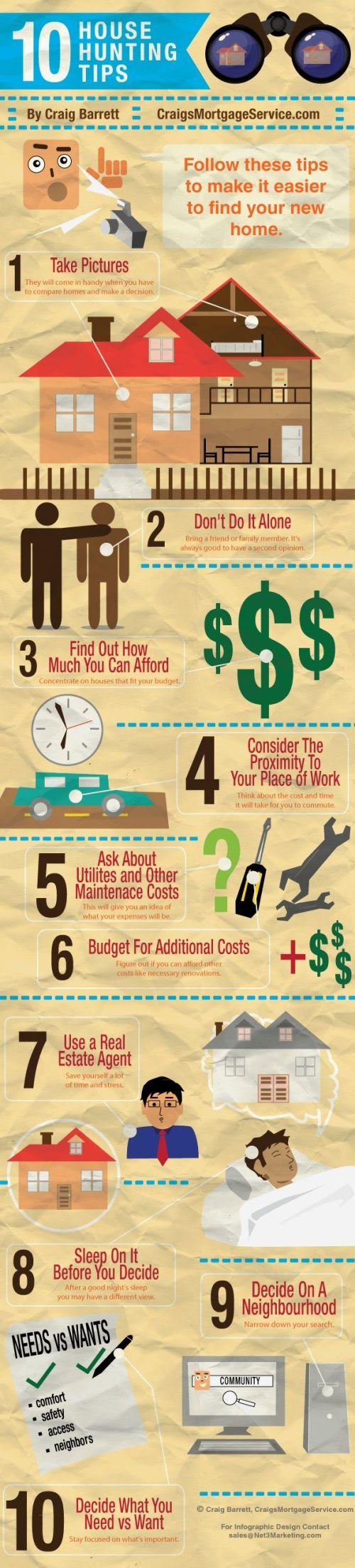 10 House Hunting Tips #ggve