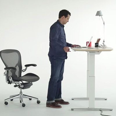 Discover The Renew Executive Sit To Stand Desk, A Modern Work Desk With A  Motorized Lift For Easy Raising And Lowering So You Can Keep Moving  Throughout The ...