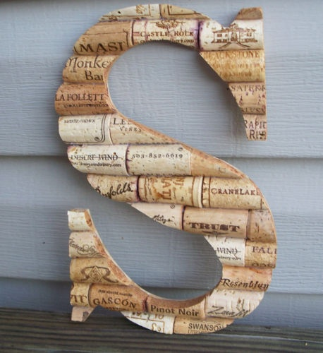 shouldnt take too long to get that many: Crafts Ideas, Wine Corks, Fun Ideas, Cool Ideas, Wine Bottle, Corks Letters, Corks Ideas, Letters Wine, Smart Ideas