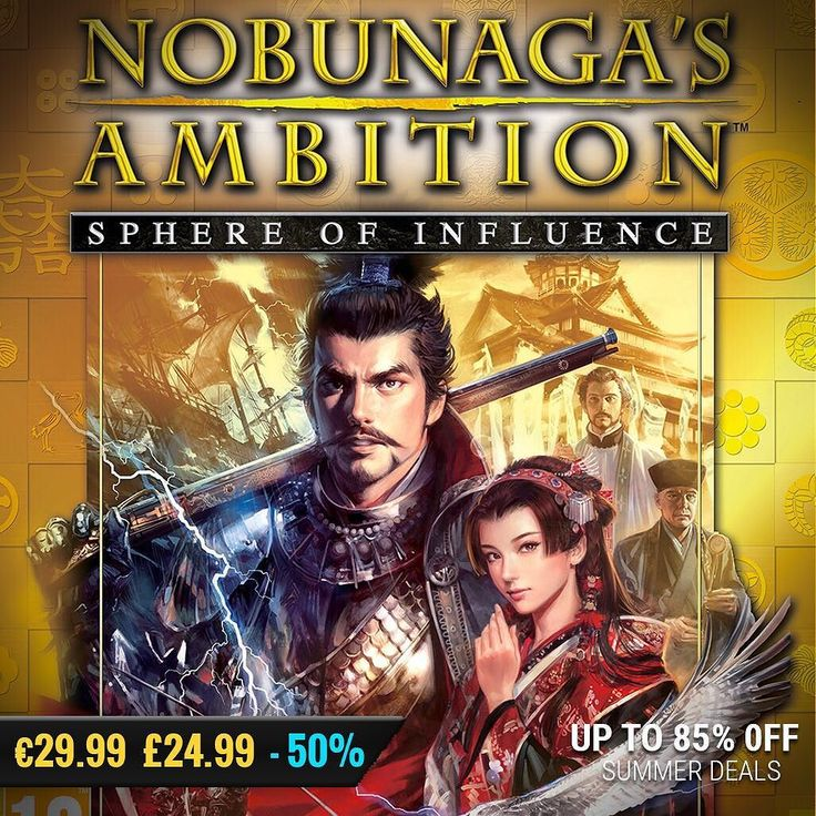 Sila Games summer sale #gamedeals NOBUNAGA'S AMBITION: Sphere of Influence -50% Off 29.99 24.99 http://ift.tt/2dFBGlj #koeitecmo #pcgaming #pcgamer #gaming #siladeals