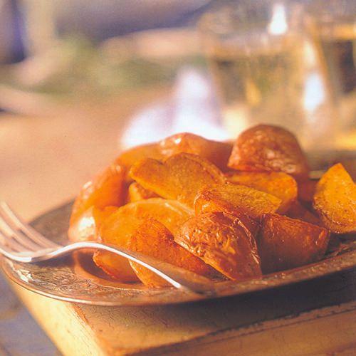 Geroosterde aardappelen met knoflook en balsamico - recept - okoko recepten