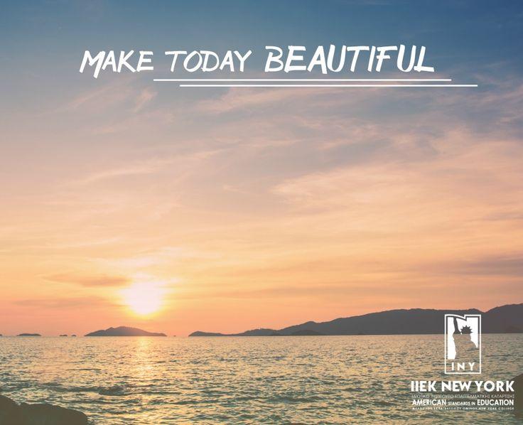 Καλημέρα! Να έχετε μια δημιουργική εβδομάδα και μια όμορφη Δευτέρα! #iny #ieknewyork #monday #kalimera