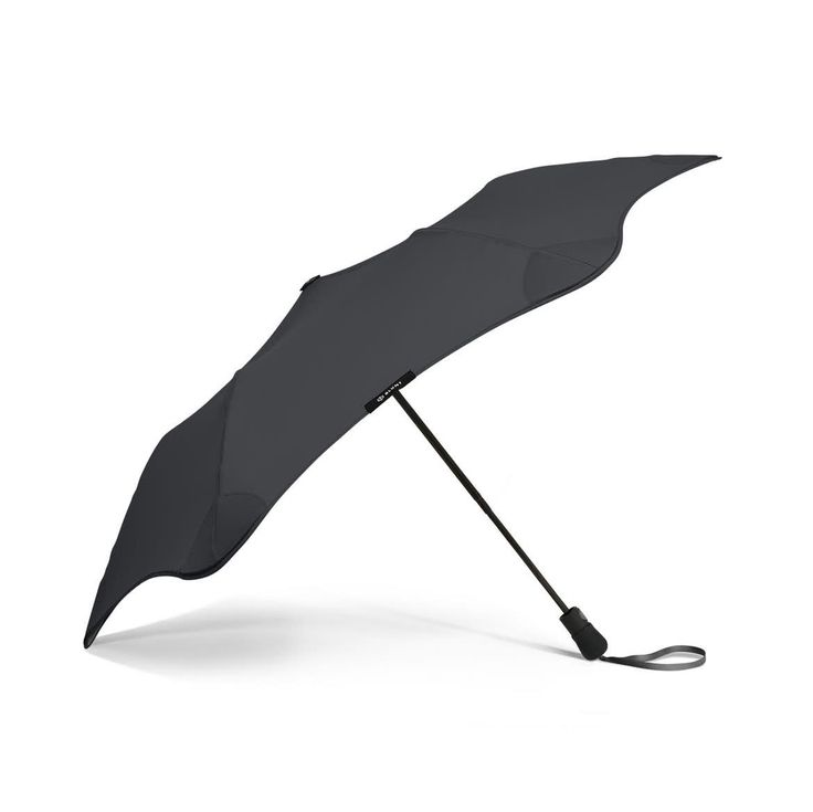 Story  The world's first radially tensioned umbrella, designed to fight rainstorms — and win  Inspired by the extreme weather of their native New Zealand, Blunt set out to completely redesign the umbrella — and the results speak for themselves. With telescopic ribs, a modern wind-shearing shape and a unique radial tensioning system, Blunt umbrellas won't blow out, give up, or fly away. The Blunt Metro is their go-anywhere travel umbrella, designed to endure serious rain and wind while…