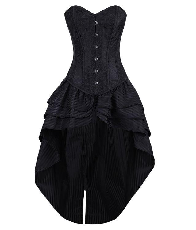1000  ideas about Black Corset Dress on Pinterest  Red wedding ...