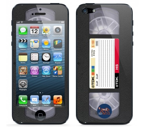 For the old school video #K7 fans, here's the #iPhone5 #skin that you need ;)
