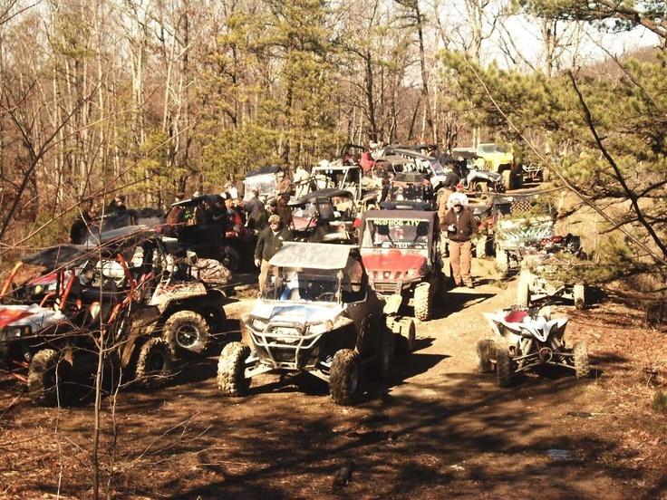 Jan 2013 Mud Hog ATV club ride