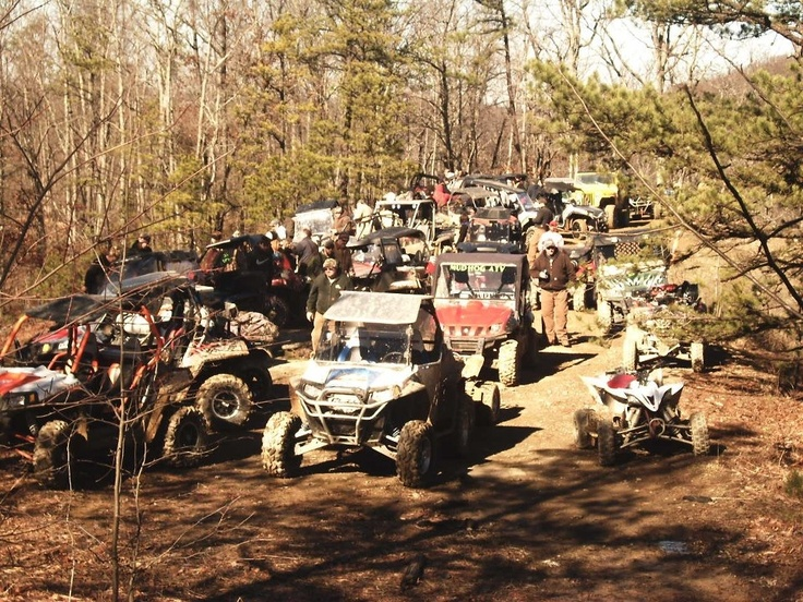 Jan 2013 Mud Hog ATV club ride
