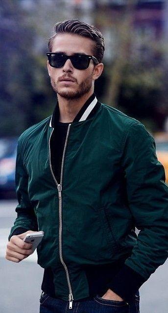 17 Best ideas about Bomber Jacket Men on Pinterest | Bomber jacket ...