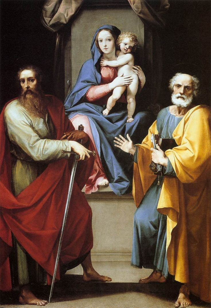 Feast of st. Peter and feast of st. Paul