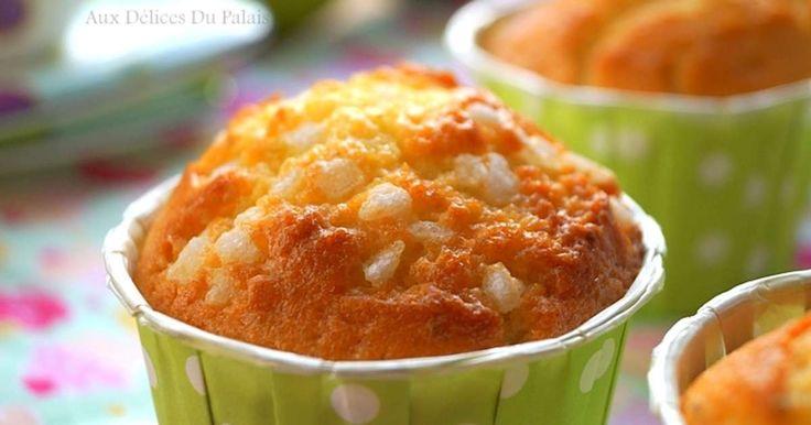 Muffins moelleux au citron / gâteau au yaourt. . La recette par auxdelicesdupalais .
