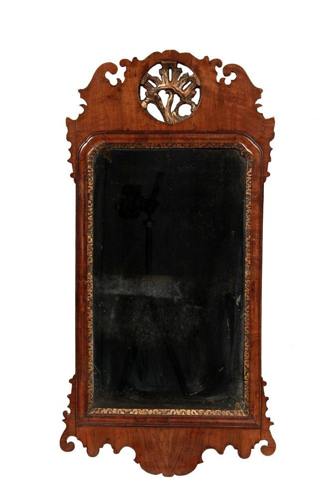 Chippendale Looking Glass 18th C English Hall Lot 1053 Mirror Hall Mirrors Chippendale