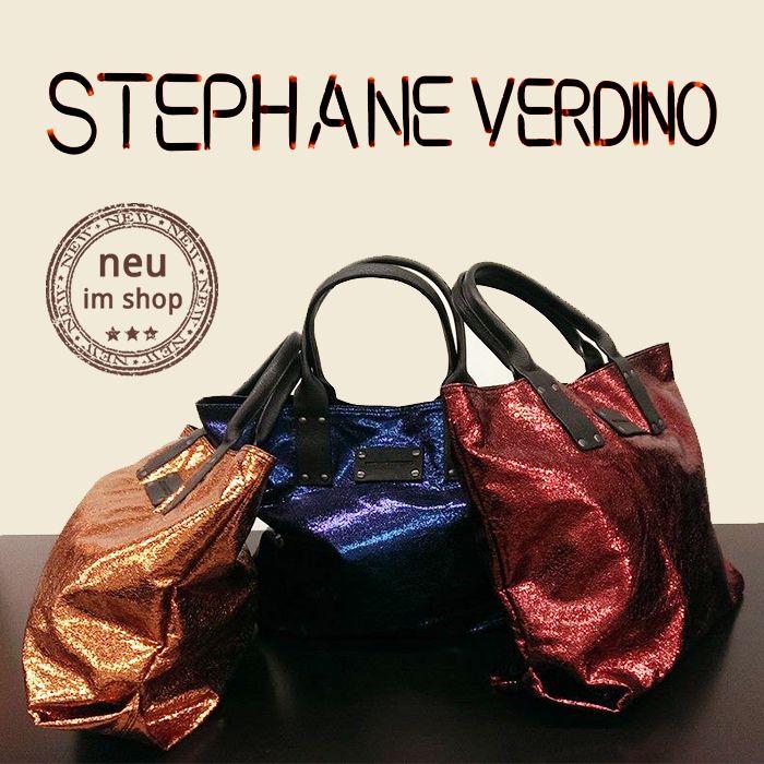 brandnew von stephane verdino paris...shopper in metallischen farbtönen  #StephaneVerdino #vanitystyle #fashion #balingen